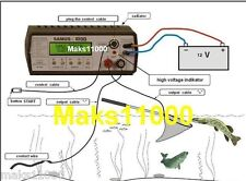 12V PRO ELECTRO FISHER FISH SHOCKER STUNNER -  Samus 1000  Carp & Catfish mode