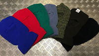 Knitted 1 Hole Balaclava, Beanie Hat / Watch Cap / Ski Hat - All Colours - NEW