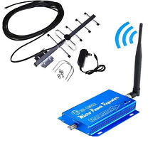 2017 Cell Signal Booster 3G CDMA GSM 850MHz Reater Repeater Amplifier+Yagi