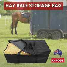 Hay Bale Bag Carry Storage Water Ski Wake Board Horse Riding Camping Gear Black