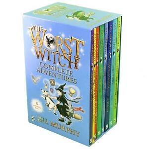 The Worst Witch Complete Adventures 8 Book Set by Jill Murphy