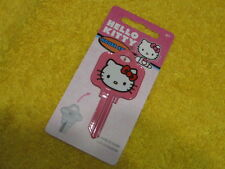 Sc1 House Key Blank Hello Kitty Pink for Schlage lock Made in The Usa