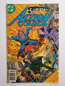 ACTION COMICS #480 (VG/F) 1978 GARCIA-LOPEZ COVER; AMAZO APPEARANCE; SUPERMAN!