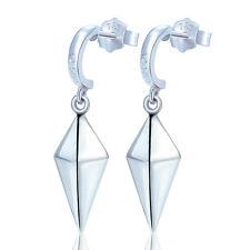 Cosplay Silver Women Drop Earrings Jewelry Anime Fairy Tail Erza Eardrop 1 Pair
