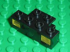 Lego Black Electric Train Light Prism 1x4 Holder ref 2928+2919 / set 4565 4564