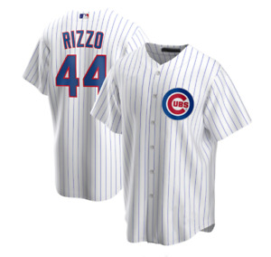 Anthony Rizzo Chicago Cubs Player Name Jersey White Printed Jersey S-4XL
