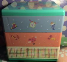 A Very Rare Vintage Sanrio Hello Kitty Just For Fun Bear Plastic Box 99  Pop Out