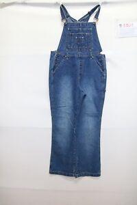 Salopette L.A. BLUES (Cod. S1101) Tg M jeans usato vintage STREETWEAR salopet