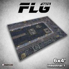 FLG Mats: Industrial 6x4' High Quality Neoprene Tabletop Gaming Mat