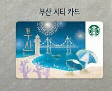 Starbucks Korea 2019 BusanCity Card
