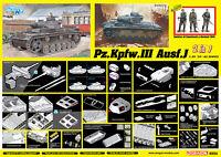 Dragon 6954 1/35 '39-'45 SERIES Pz.Kpfw.III Ausf.J 2 in 1 2019 NEW TANK MODEL