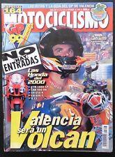 REVISTA MOTOCICLISMO,AÑO 1999,NUMERO 1647, Valencia sera un Volcan