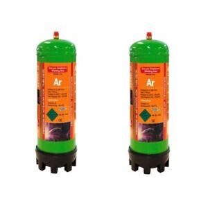 Argon 100% Disposable Gas Welding Bottle 2.2Litre For TIG Welding