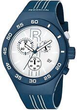 Reebok Icon Rush Chrono Men's Sport Watch Midnight Blue and White RC-IRU-G6-PLIL