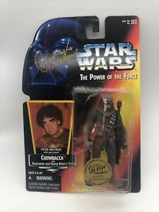 Signed Peter Mayhew TOY EXPO LIMITED EDITION Chewbacca Star Wars PoTF