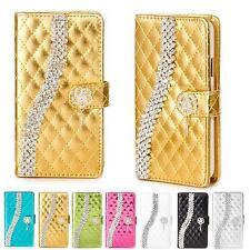 Strass Glitzer Handy Tasche Schutz Hülle Flip Cover Style Case Bling Design K919
