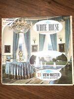 Sawyer's Vintage A793 The White House Washington D.C. view-master Reels Packet