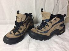 Nevados Mens Tan Hiking Trail Boots Shoes Size 8 Lace Ups Anatomical Air