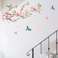 Flower Tree Nursery Homes Wall Sticker Removable Decals Kids Baby Room Decor Art