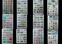 A Large Stamp Collection From United States & All Different, Free World Shipping