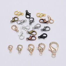 50Pcs Alloy Lobster Clasp Parrot Claw for Necklace Bracelets DIY Jewelry Making