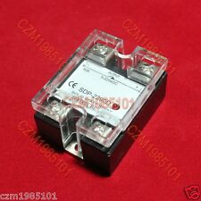 Solid State Relay Ssr Dc Dc 25a 3 32vdc5 220vdc 90a For Crydom D1d90d1d100