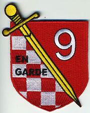 Destroyer Squadron Nine (Desron 9) En Garde BC Patch Cat No C6444