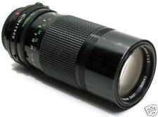 Canon FD zoom 70/150mm. f 1:4,5