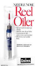 Daiwa Needle Nose Fishing Reel Oiler W/ Reel Oil For New & Vintage Fishing Reels