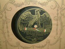 WW2 MUSSOLINI RECORD SPEECH MESSAGE TO NORTH AMERICANS VICTOR TALKING MACHINE CO