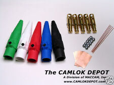 Camlok #2 - 2/0 MALE ONLY In Line 3 Phase Kit (5 Pcs.)