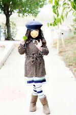 Little Mass Sz 6 Girl Coat Winter Fall Girl Sash