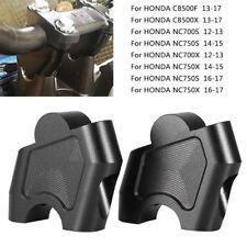 Handlebar Clamp Mount Extension Riser For Honda NC750X CB500X NC700X DCT CB500F