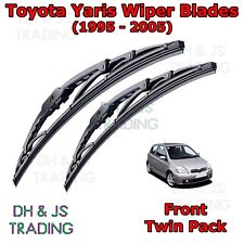 "(95-05) Toyota Yaris Front Wiper Blades Window Windscreen Set 20"" 15"" Wipers MK1"
