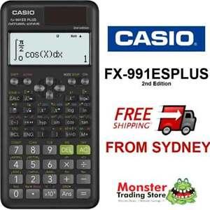 CASIO SCIENTIFIC CALCULATOR FX-991 FX991ES FX-991ESPLUS-2-W 2nd EDITION NEW MODE