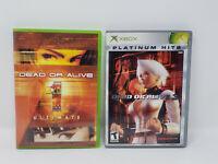Dead Or Alive 1 Ultimate & Dead Or Alive 3 Lot (Original Xbox)