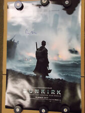 DUNKIRK ORIGINAL Movie Poster Signed By Director Christopher Nolan 27x40  1