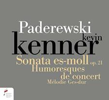 Kevin Kenner - Paderewski. Sonata In E Flat Minor Op. 21, Humersques De Con