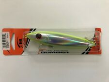 Bomber Topwater - Chartreuse Belly and Back With Silver Sides - 4 3/4 inch body