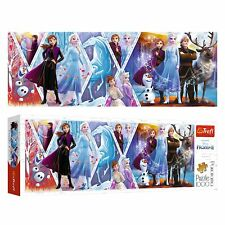 Trefl 1000 Piece Panorama Adult Large Disney Frozen 2 Anna Elsa Jigsaw Puzzle
