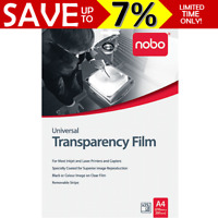 NOBO A4 OHP Universal Inkjet Laser Transparency Film Overhead Projector UF0025