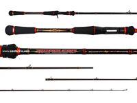 "Rapala RAPALERO 6'6"" 1 Piece  - RRC-662XH Overhead Bait Casting Fishing Rod"