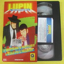 VHS film LUPIN L'INCORREGGIBILE Il gran premio di montecarlo Regalo(F107) no dvd
