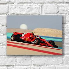 Kimi Raikkonen Poster A4 NEW Ferrari Formula 1 F1 Driver Car 7 #2 Wall Decor