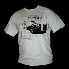 ford Escort RS Mexico Classic fast ford grid style 100% cotton mens T Shirt