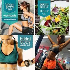 Bikini Body Guide BBG Updated 1.0 2.0 + H.E.L.P + free wk of Workouts EBOOKS PDF