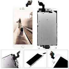 For iPhone 6 Plus A1522 White LCD Touch Screen Digitizer Replace w/Button Camera