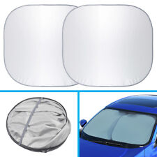 Motor Trend Large Pop-Up Auto Sun Shade Heat Blocker for Car SUV Truck x 2