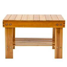 Multi-purpose Children Bench Stool Bamboo Stepping Chair Foot Rest Stool Wood