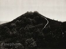 1924 Vintage SCANDINAVIA Photo Art Danish Denmark Gjern Hill Mountain Landscape